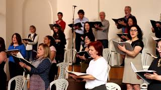 Coral da Fraternidade - Glória e louvor (Praise ye the name of the Lord)