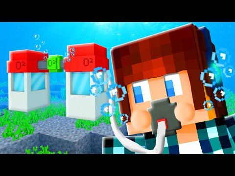 GERADOR DE OXIGÊNIO!! - Minecraft Cidade #29