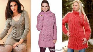 Beautiful Ladies handmade woollen cardigan designs //hand knitted ladies sweater //top 30 designs
