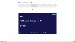 Hr @tableau | tableau on for (repeated)