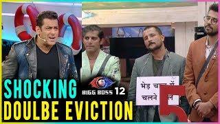 WEEKEND KA VAAR Shocking Double Eviction | Bigg Boss 12 Full Episode Update