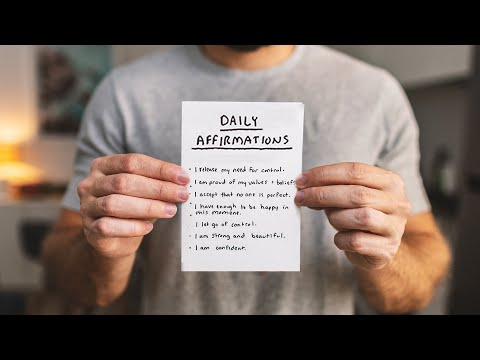 I tried daily affirmations for 7 days.