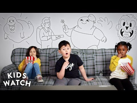 Kids Watch Ghostbusters for the First Time (Teaser) | Cut