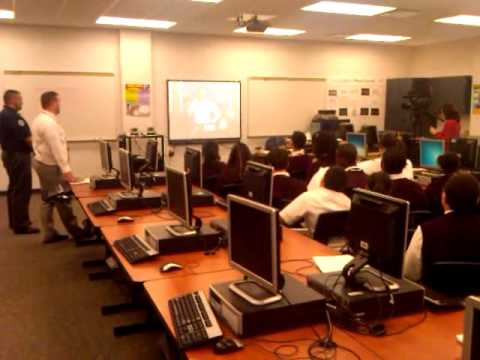 EPS Students Talk to NASA Scientist at Mission Control