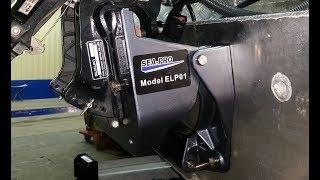 Sea-Pro  ELP01. Транец с гидроподъемом. Обзор.