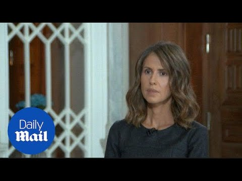 Syrian president's wife slams Western media coverage of war - Daily Mail