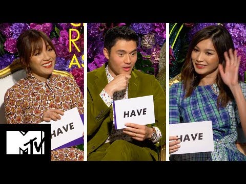 Crazy Rich Asians Cast Play Never Have I Ever | MTV Movies