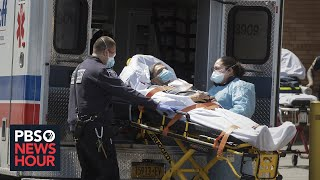 What these New York EMTs are seeing as they respond to COVID-19 cases