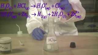 zn hcl zinc and hydrochloric acid אבץ וחומצת מימן כלורי