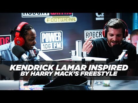 Kendrick Lamar Inspired By You Tube Rapper Harry Mack