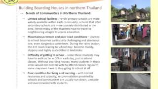 Footsteps for Good 2013 : Building Boarding Houses with Child's Dream
