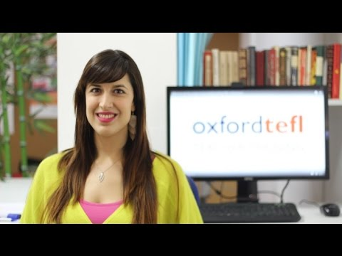 What is the visa support service at Oxford TEFL Barcelona?