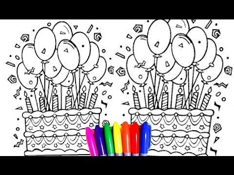 Learning Colors For Children With Coloring Pages