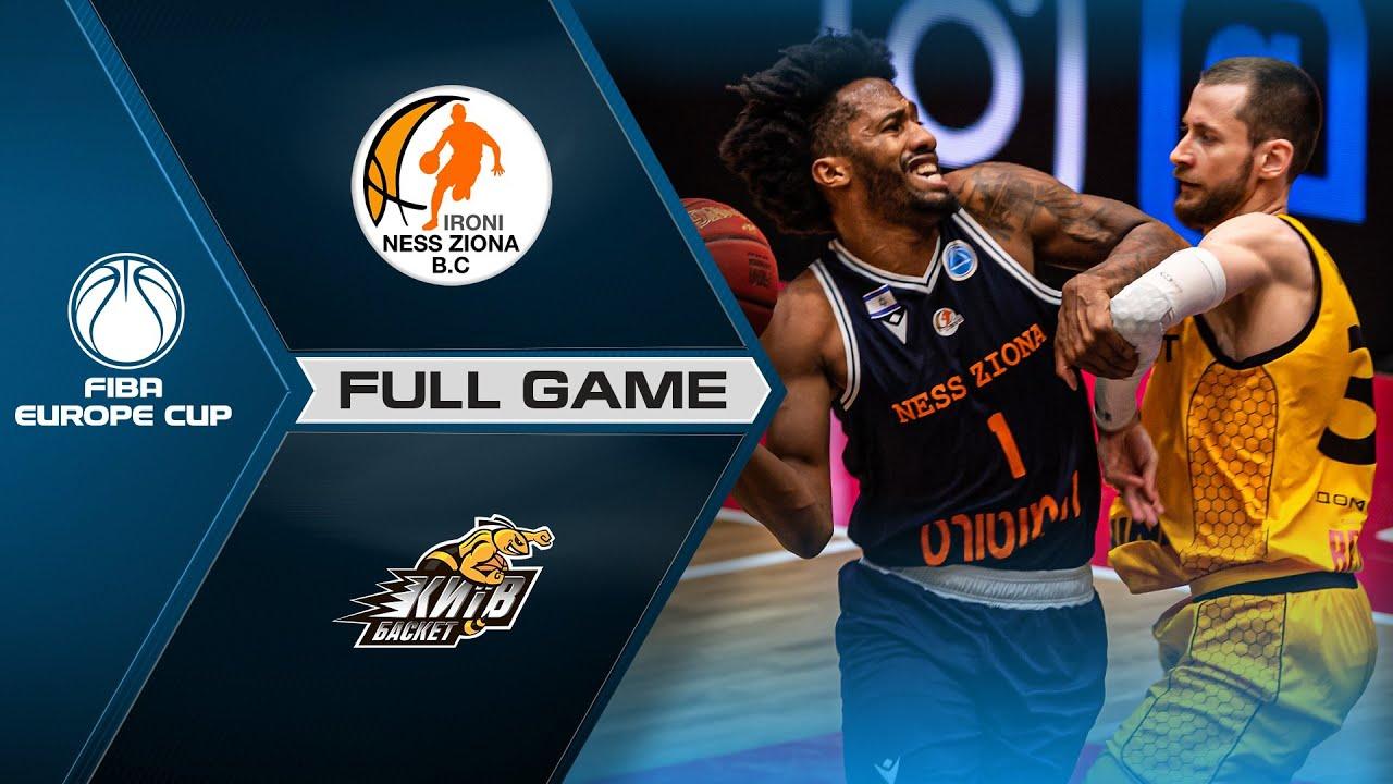 Ironi Ness Ziona v BC Kyiv Basket | Full Game - FIBA Europe Cup 2020