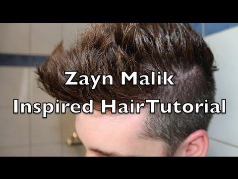 Zayn Malik Hair Tutorial One Direction
