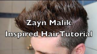 comment faire coiffure zayn malik