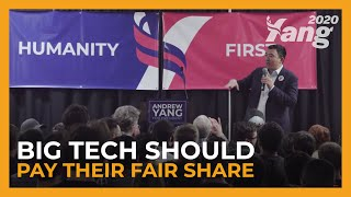 Big Tech Should Pay Their Fair Share | Andrew Yang in Austin, TX