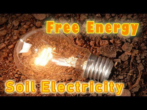 DIY  | HOW TO GENERATE ELECTRICITY FROM SOIL | Battery From Earth