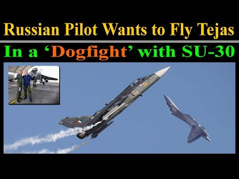 Russian Pilot Wants To Fly LCA Tejas In A 'D0G-FlGHT' With Sukhoi Su-30