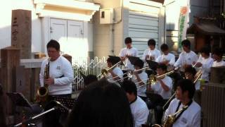 The Heat's On / Konan Brass Ensemble 2010 (Sammy Nestico, Count Basie)