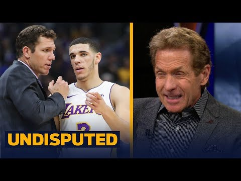 Skip Bayless explains why 'it's Lonzo Ball vs Luke Walton' on the Lakers | UNDISPUTED