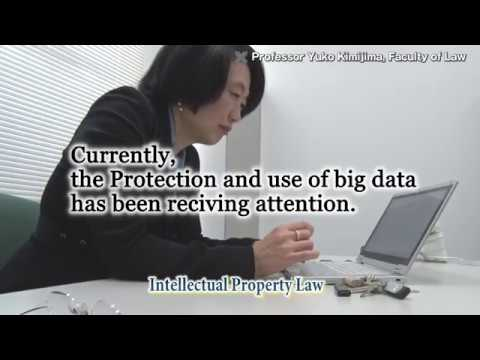 Protection of Intellectual Property: Professor Yuko Kimijima, Faculty of Law, Keio University