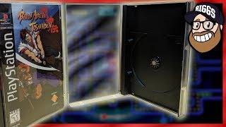 Replacement Cases for Sega Saturn, Sega CD, Playstation