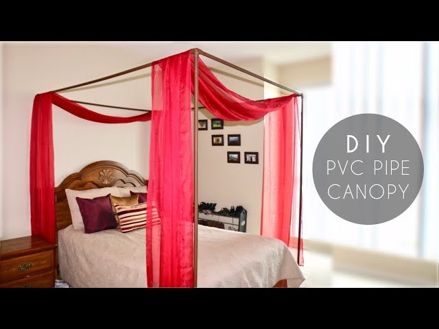 DIY PVC Pipe Bed Canopy 7 Steps With Pictures