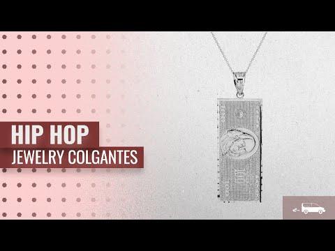 10 Mejores Ventas Colgantes De Hip Hop Jewelry: Hip Hop Jewelry 925 Sterling Silver Hundred $100