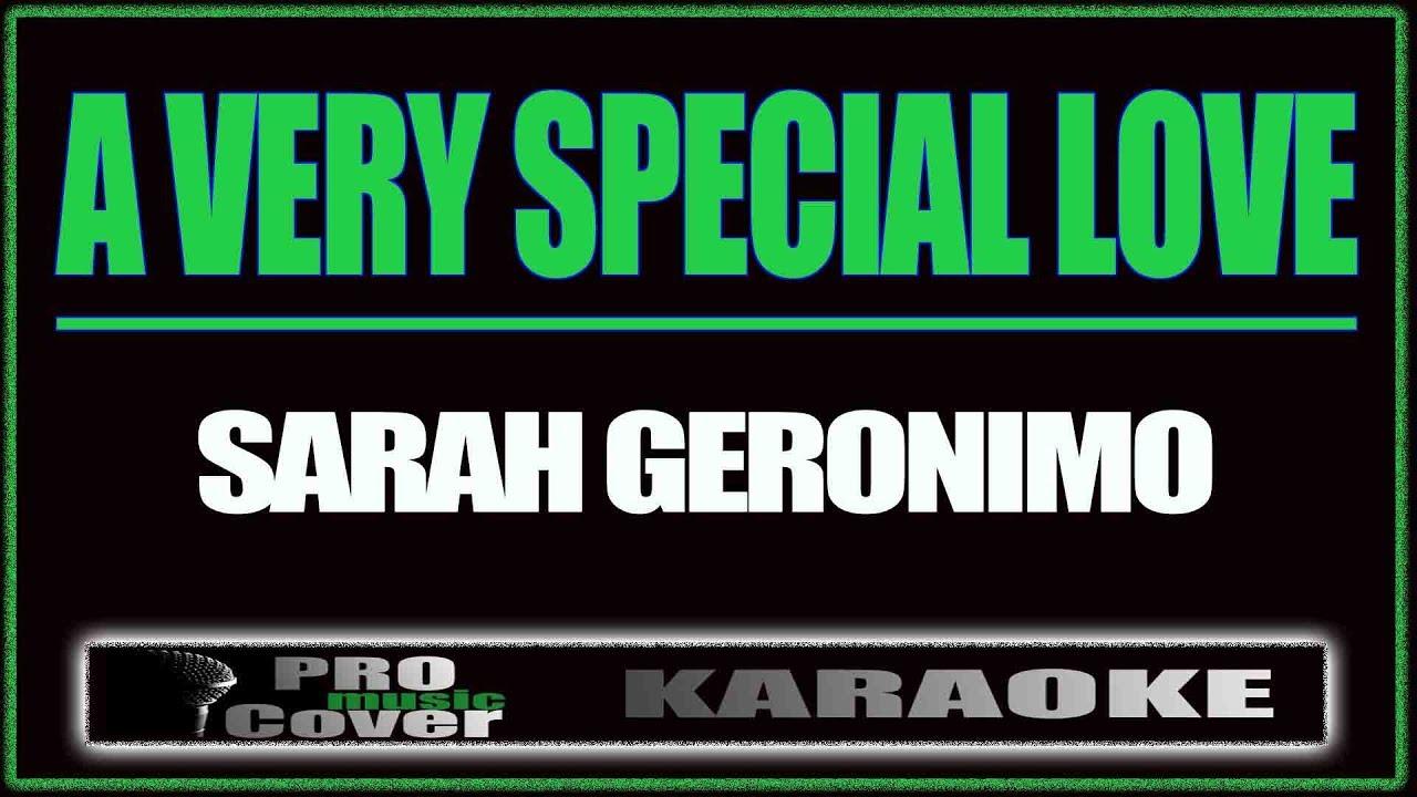 A Very Special Love - Sarah Geronimo Karaoke - Youtube-3426