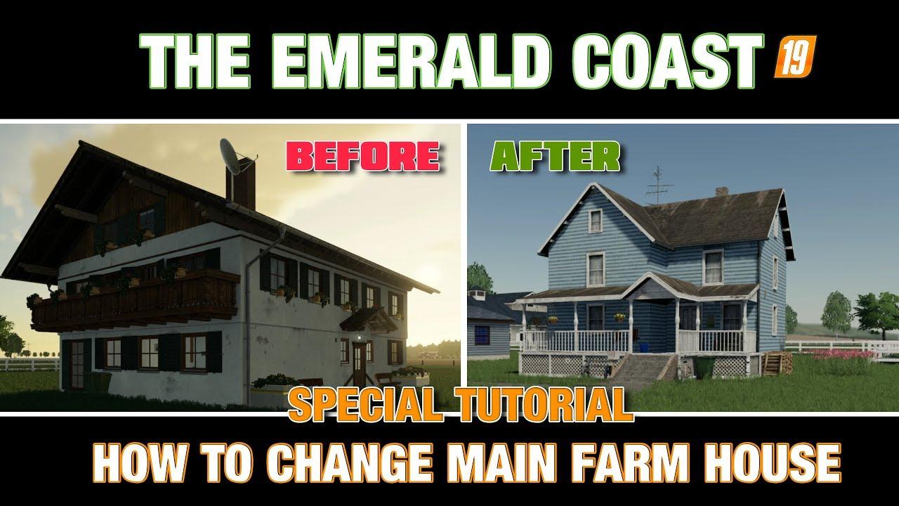 EMERALD COAST 19-HOW TO REPLACE MAIN FARMHOUSE - Atomic67 G