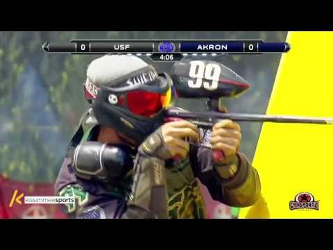 University of Akron vs University of South Florida - 2016 NCPA Paintball Class AA Finals