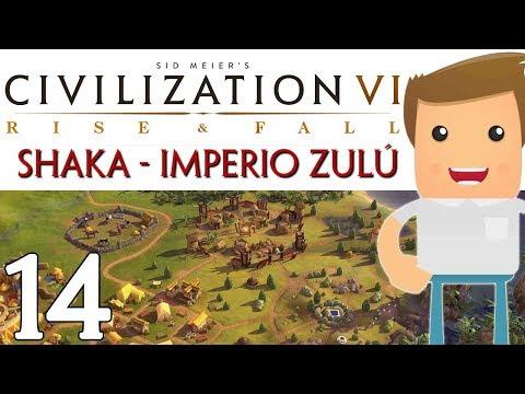 Y ASÍ SE CONQUISTA UN CONTINENTE ► CIVILIZATION VI: RISE AND FALL #14 [ gameplay español ]