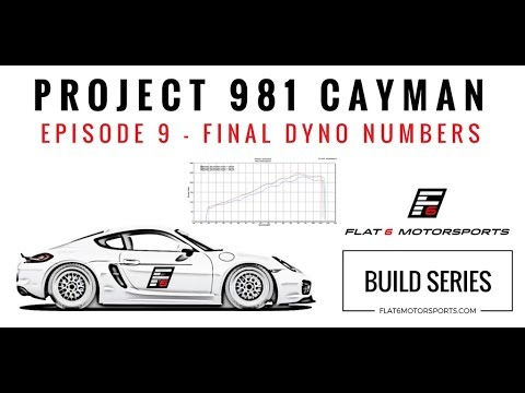 Project 981 Cayman - Final Dyno Numbers (Episode 9)