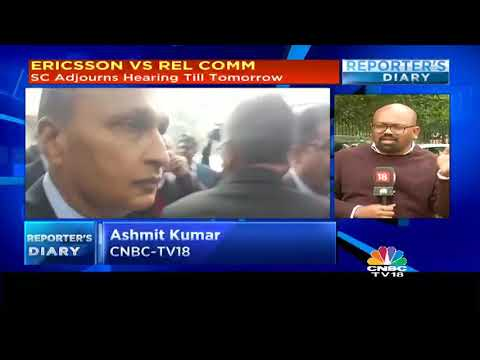 Anil Ambani Appears Before SC