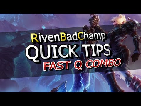 ► QUICK TIPS: Fast Q Combo (Re-upload)