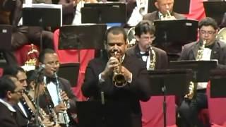 Trompete de Espanha (GILBERTO GAGLIARDI) - Banda Sinfônica da Cidade do Recife
