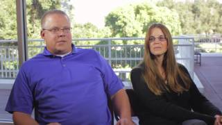 John and Elizabeth Haendiges on University of La Verne Online Program