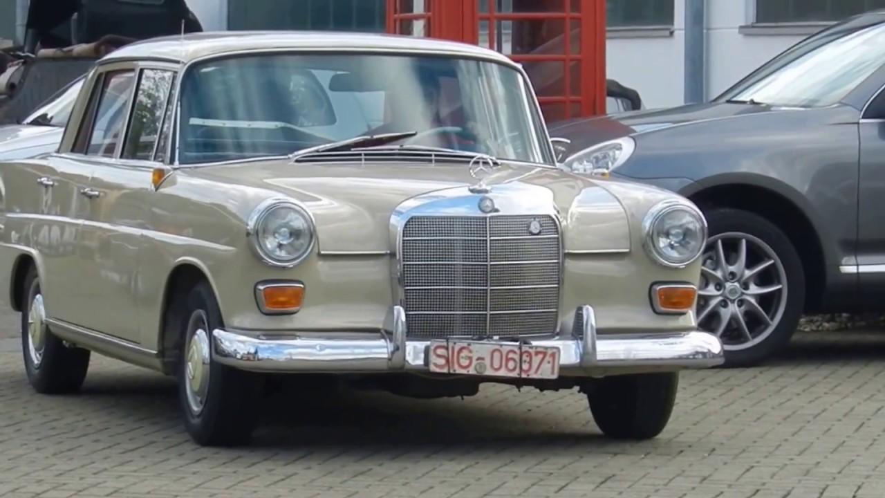 1965 Mercedes Benz W 110 Kleine Heckflosse 190 C Fahrend Youtube