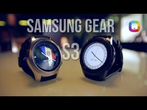 Samsung Gear S3 - un ceas beton (review în Română)