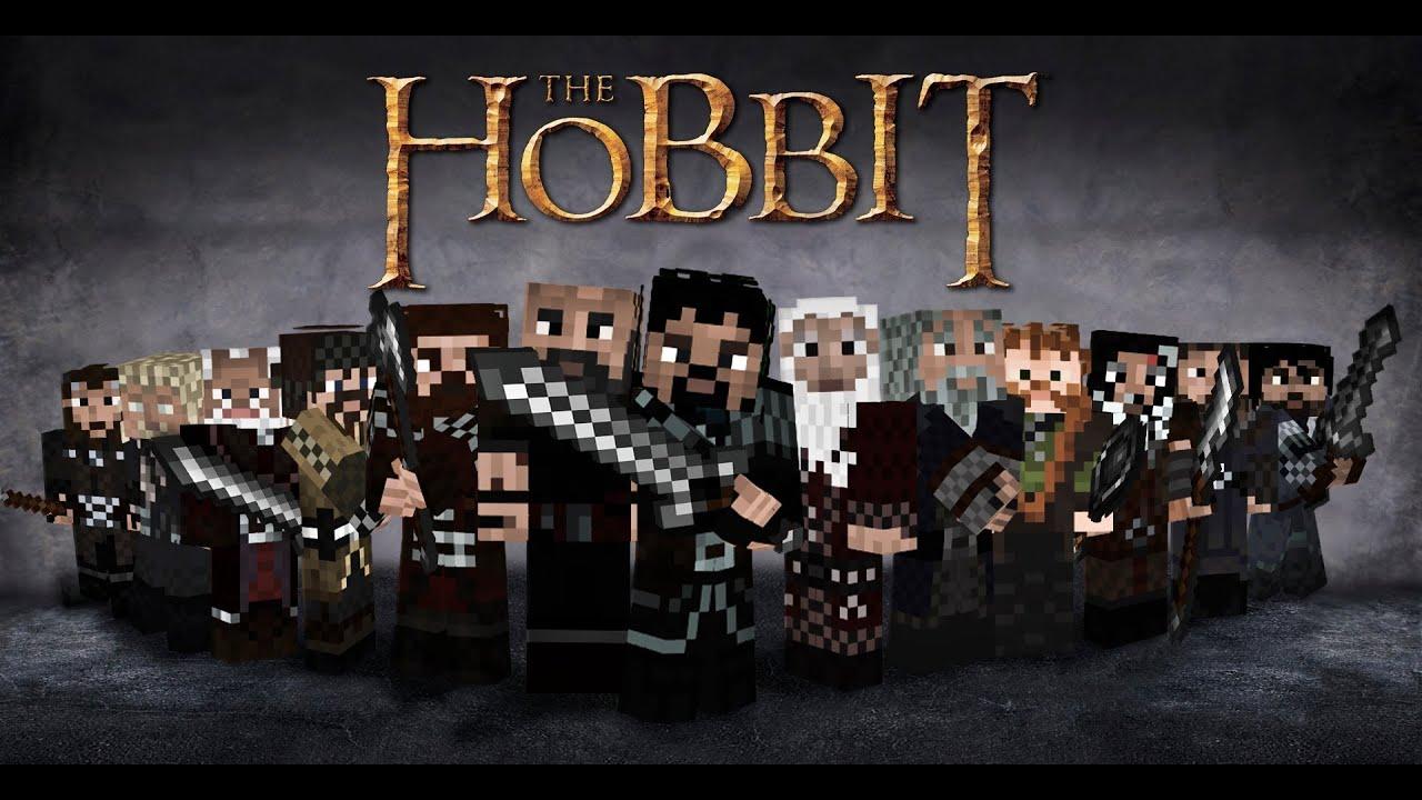 Minecraft The Hobbit Trailer  YouTube