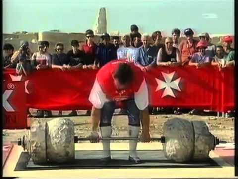 Jouko Ahola deadlift 380 kg