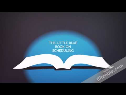 The Little Blue Book on Scheduling