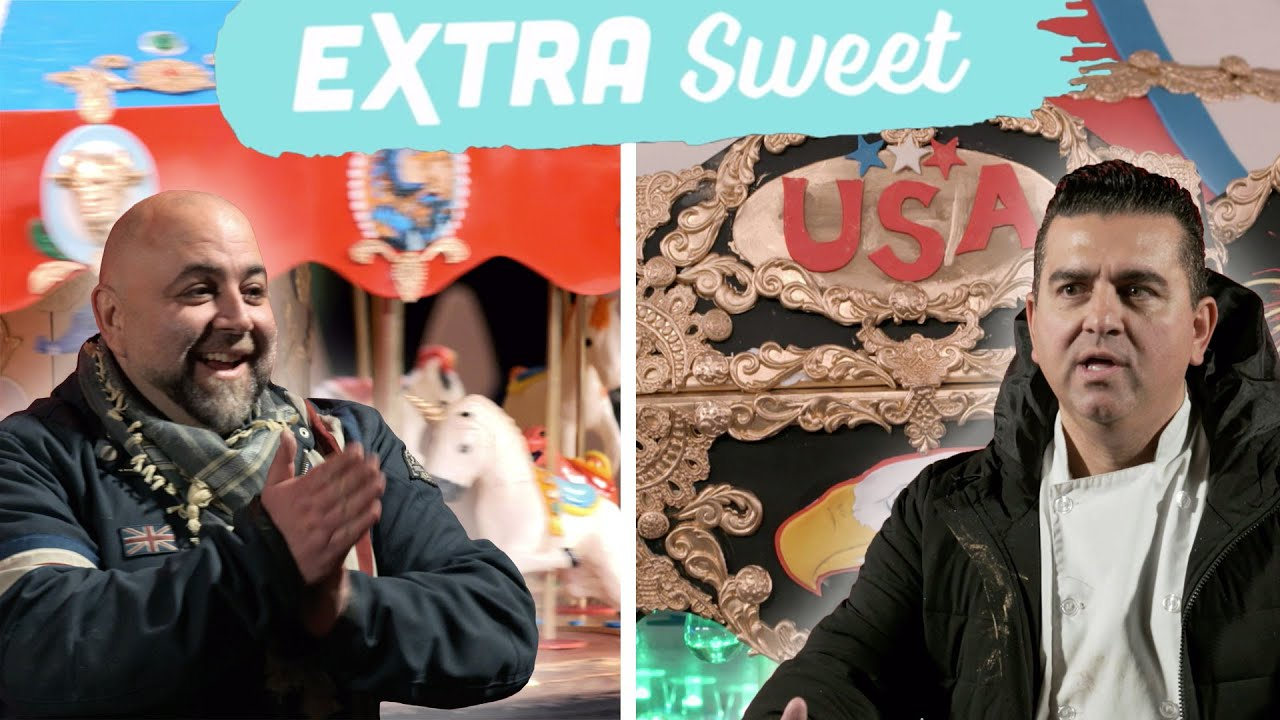 Download Buddy & Duff Make Theme Park-Inspired Cakes | Buddy vs. Duff | Food Network