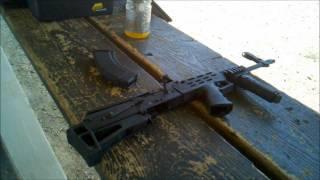 Century Bullpup Ak-47 at the Range
