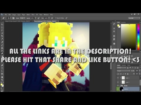 [Tutorial] How To Make A Professional Minecraft Profile Picture