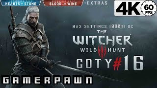 The Witcher 3: Wild Hunt 4K GOTY Edition 2160p 60fps Max Settings Death-March Part 16