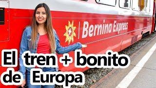 Paseo en Tren - Alpes Suizos y el Bernina Express - Latinos en Europa