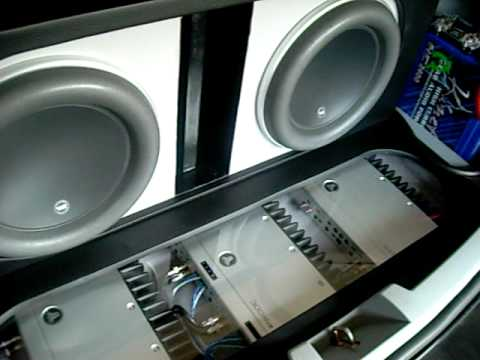 Car Audio Systems >> Steve Meade inspired car audio build...this is T-ball ...