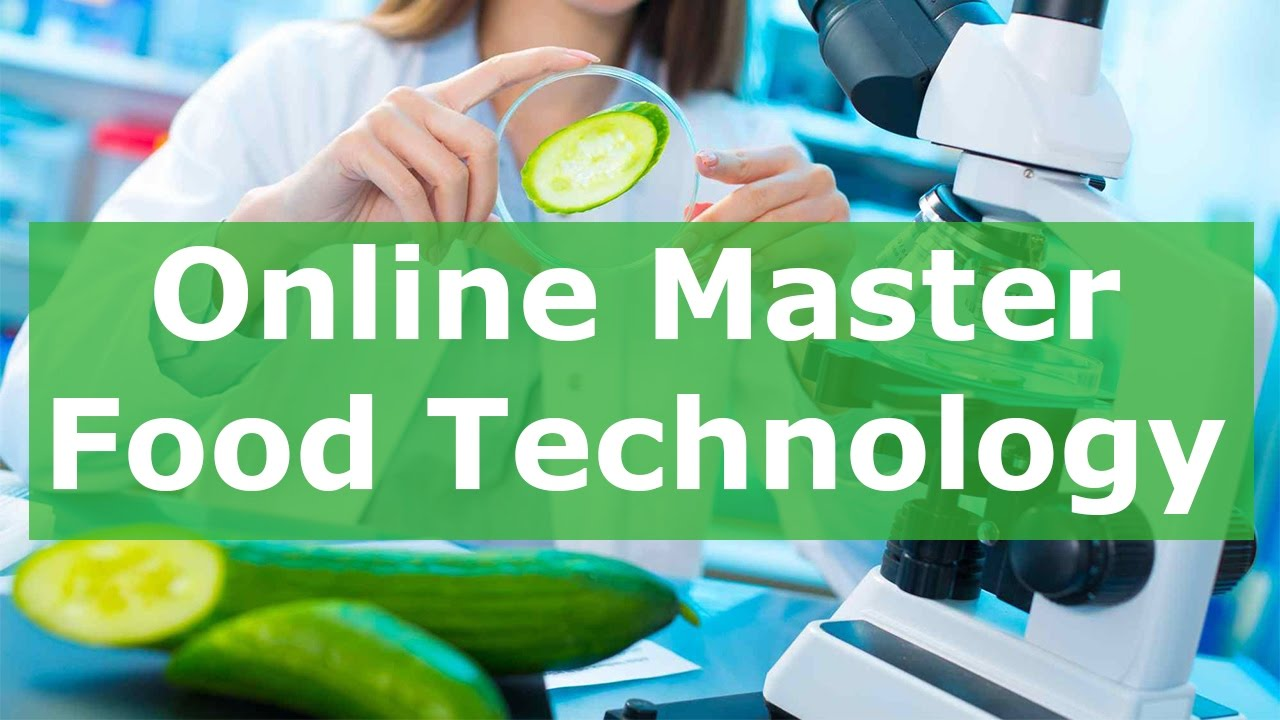 Online master food technology wageningen university for Cuisine tech